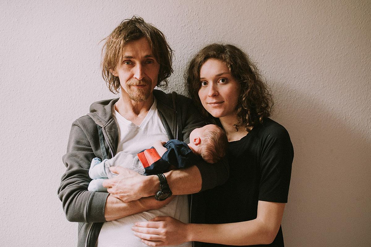 Fotografia noworodkowa - sesja rodzinna