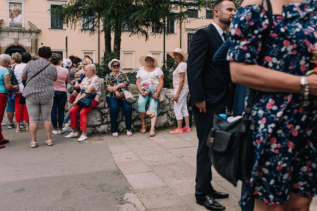 Turyści w Krakowie