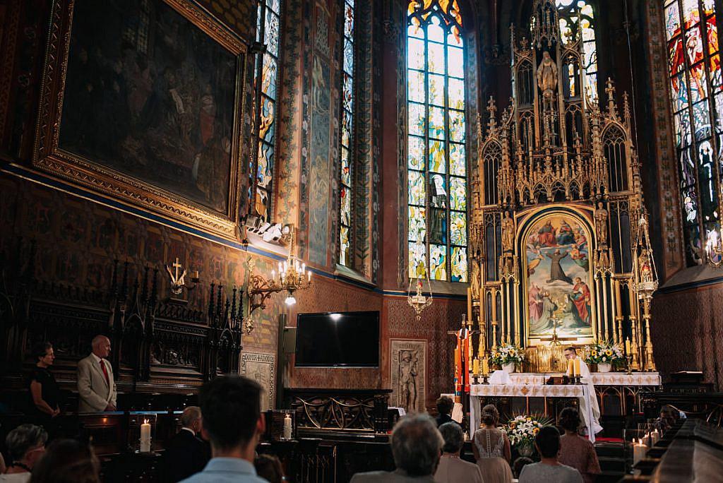 Ślub w Bazylice Franciszkanów - Fotograf ślubny Kraków